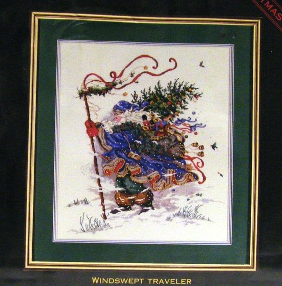 Windswept Traveler Gold Collection Counted Cross Stitch Kit by Peggy Abrams 1995