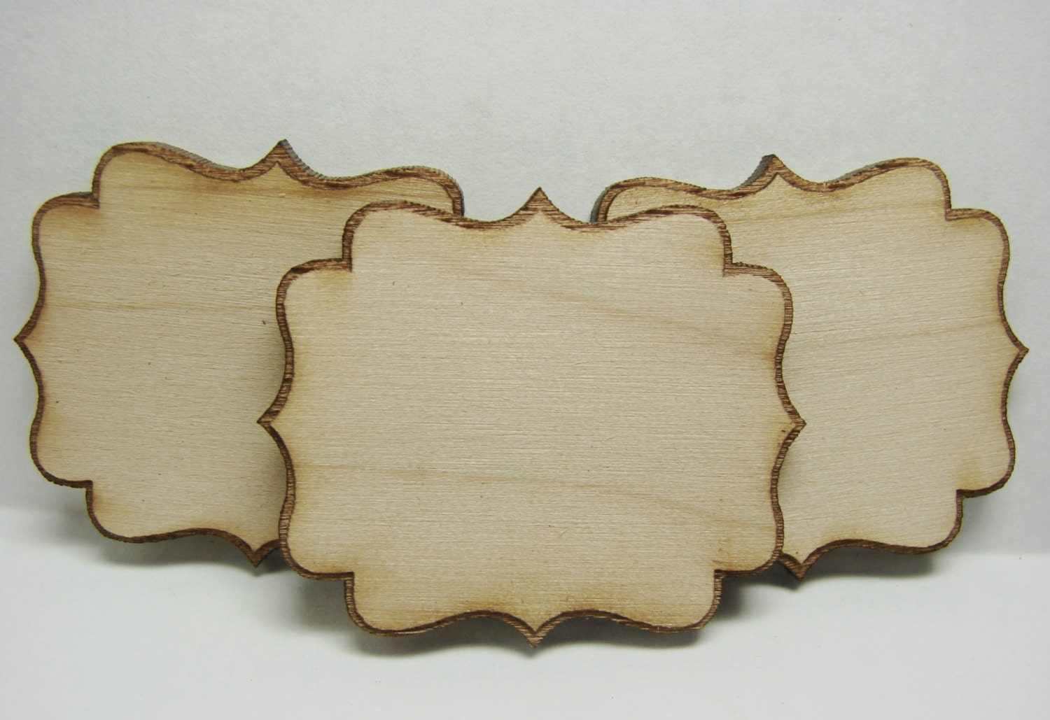 Unfinished wood picture frames craft -  Zoom