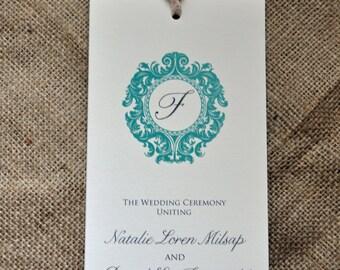 100 Vintage Multi-Page Wedding Programs
