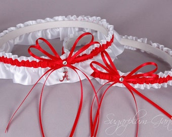 University of Alabama Crimson Tide Wedding Garter Set
