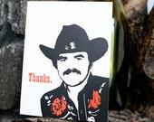 Burt Reynolds thanks, set of 5