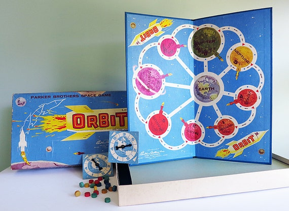Orbit, a 1959 Parker Brothers Space Board Game