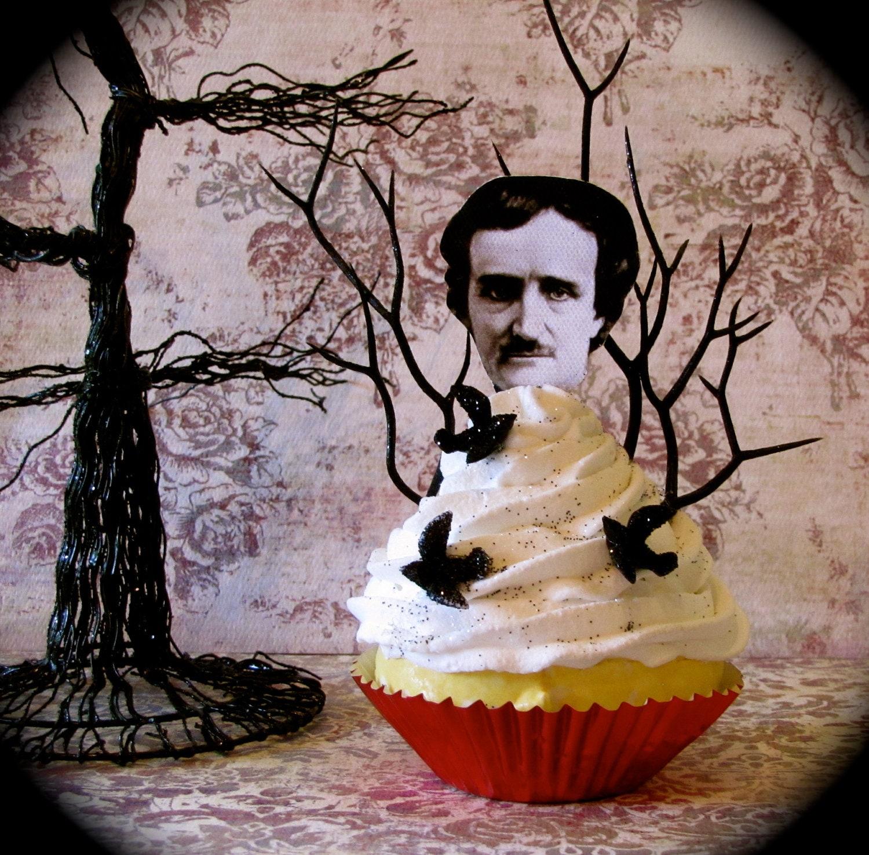 Edgar Allan Poe Birthday Cake