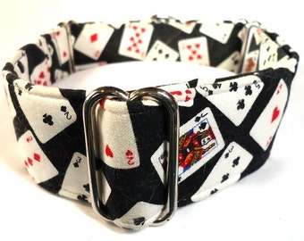 Lucky Cards Greyhound Martingale Collar