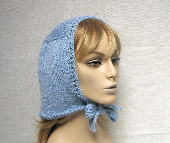 Retro Style with Modern Twist Hand Knit Headscarf -  New Design for Upcomming Season
