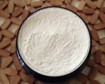 Lemongrass Whipped Organic Shea Butter - 1 oz. jar