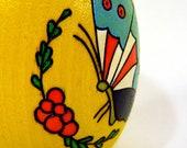 Wooden Easter Egg - Butterfly