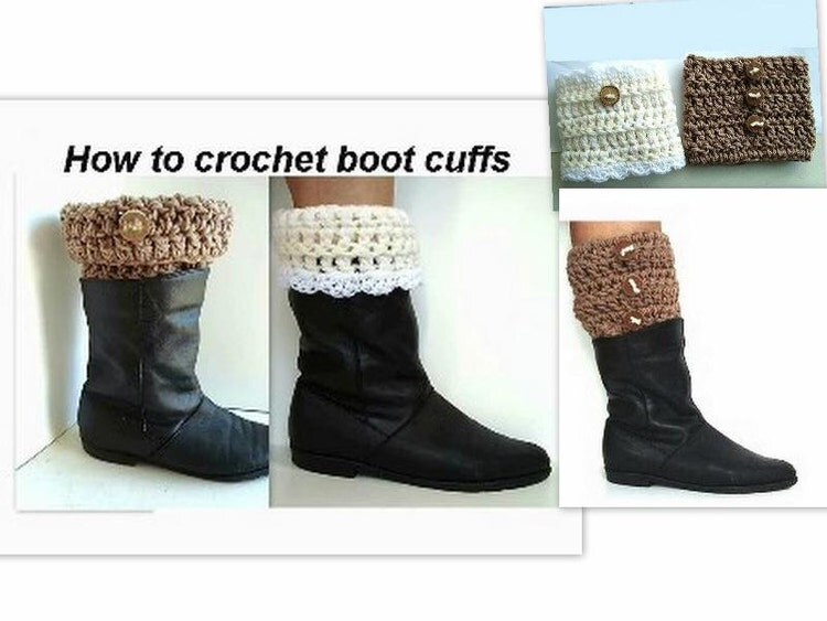 CROCHET PATTERN boot cuffs crochet patterns children by ...
