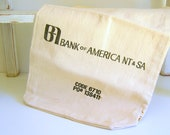 Bank of America Money Bag Vintage
