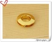 5/8 inch Golden Alloying Grommet Eyelet 6pcs E19
