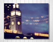 BUY 2 GET 1 FREE San Francisco Photography, California Photography, Home Decor, Wall Decor, San Francisco Port, Heart Bokeh, Fine Art Photo