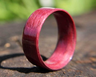 Bentwood Ring Purpleheart