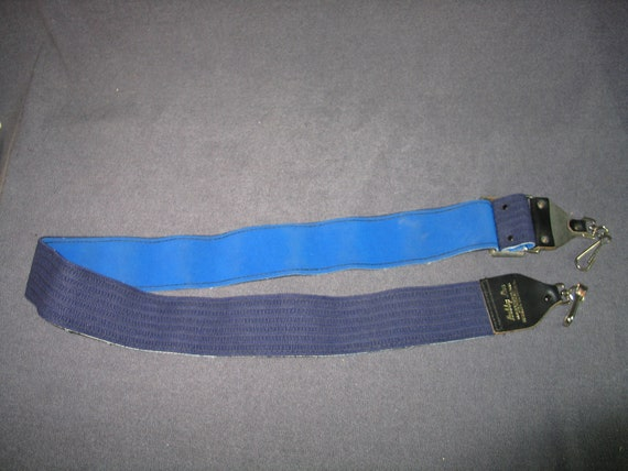 Blue Photography Camera Strap Leather Tab Swivel Clips Bobby Lee