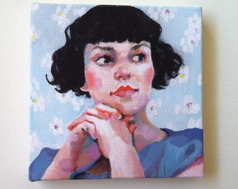 Jenny / Tiny canvas print