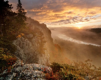 Lake of the Clouds - Michigan Photography - Stock Photography