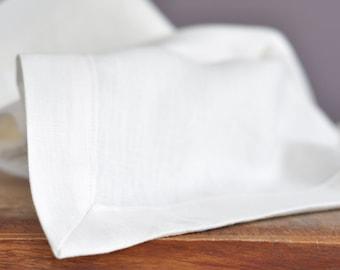 Linen Table Runner 14x64 White