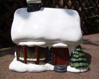 Christmas Cottage-Snow House