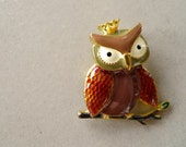 Owl King ENAMEL PIN