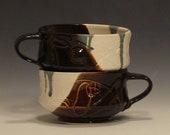 Ceramic Soup Mug Set-2089