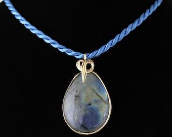 Labradorite Pendant. Listing 104160377