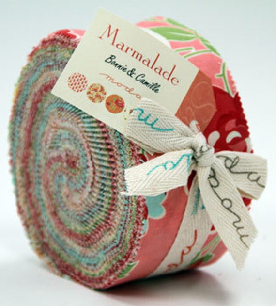 Bonnie and Camille for Moda, Marmalade 55050JR - Jelly Roll (Last One)