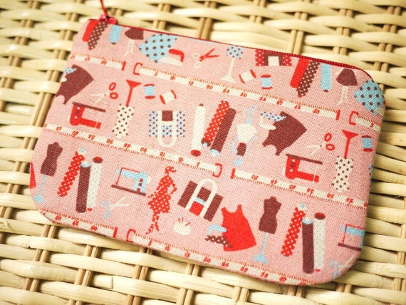 Sewing RoomMini Zipper Pouch
