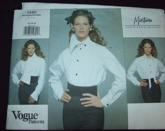 Vogue paris original pattern Montana uncut size 18-20-22 free shipping within Canada and United States