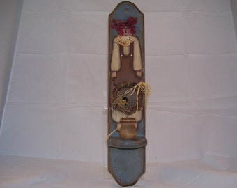 Raggedy Annie Candle Holder