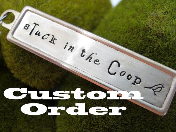 Custom Order for kimolmstead (disc charm)
