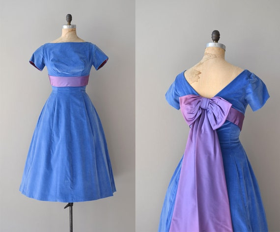 1950s dress / 50s party dress / Wish Upon a Star
