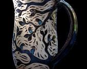 Woodcut Birds in a Tree Mug