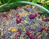 Potpourri Herbal Blend, Lavender Scented. Bulk ( 4 ounces) Organic herbs to make scented sachets, bath tea & bridal shower favors