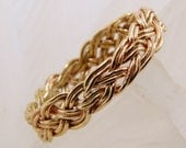 Handwoven GoldFilled Ring