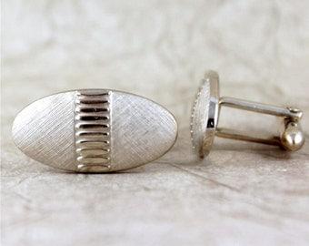 Vintage Cufflinks - Gold Tone Finish - Vintage Swank Men's Jewellery - Formal Wear Accessory - Grooms Gift