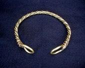 CHIEFTAIN WARRIOR TORC  druid viking Celt celtic