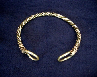 CHIEFTAIN WARRIOR TORC  druid viking Celt celtic