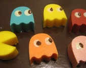 Pac-Man chocolate candies party favors 12 pieces