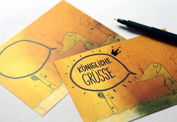 postcards set - 5 pcs