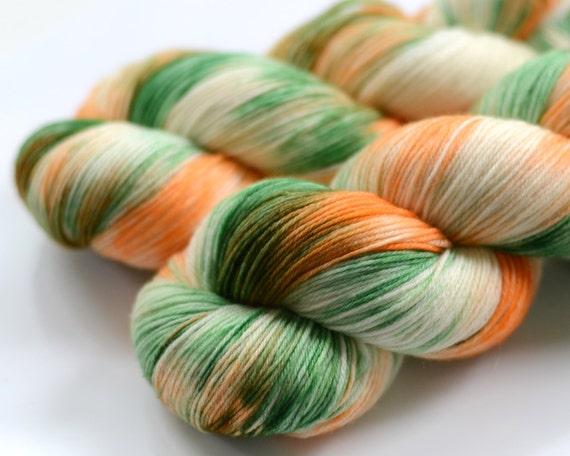 Hand dyed sock yarn - Melony - MCN