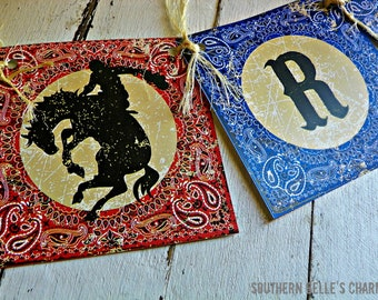 Cowboys & Indians Banner...Set of 1 Rootin Tootin' Round-Up Banner