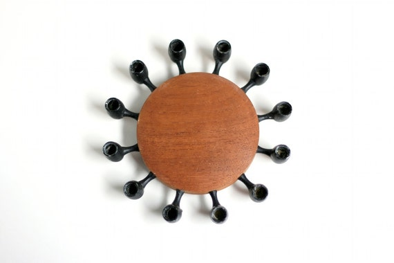 Danish Modern Candle Holder