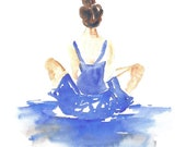 Dancer in Watercolor - lauratrevey