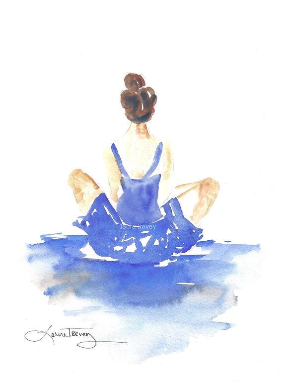 Dancer in Watercolor