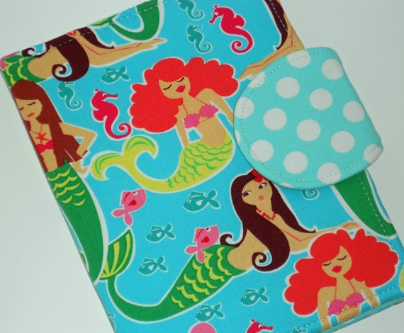 Kindle Cover Nexus 7 Case Nook Tablet Cover all sizes Mermaid Magic eReader Cover