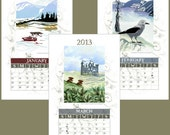 2013 Gorgeous Earth Friendly Wall Calendar