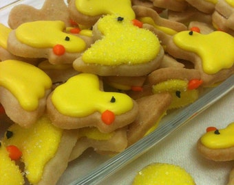 MINI SUGAR COOKIES, Duck Itty Bitty Sugar Cookies, 1/2 Pound