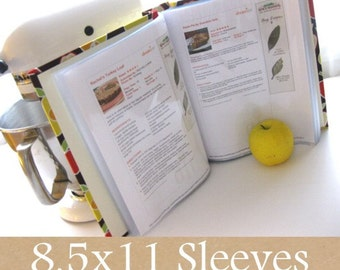 25 additional sleeves for recipe book