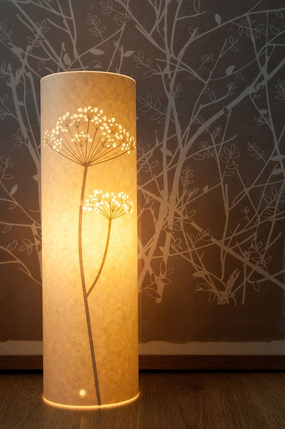 Tall Cow Parsley Table Lamp