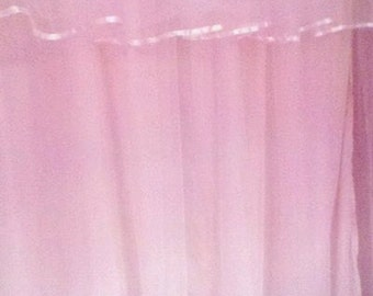 Custom Made Tulle Shower Curtain