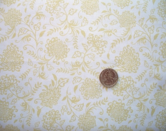 COUPON Code Sale - Riley Blake, Decadence, Light Floral, Samantha Walker, 100% Cotton Quilt Fabric, Tonal, END of BOLT